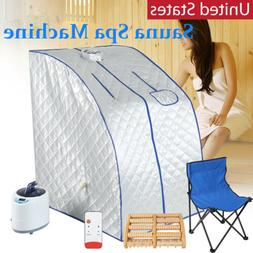 1000W 2L Portable Home Steam Sauna Personal Spa Tent Detox T