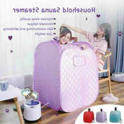 2L Portable Folding Home Steam Sauna Personal SPA Loss Weigh