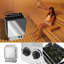 3KW Sauna Heater Stove Wet Dry Stainless Steel Internal Cont