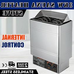 3KW Stainless Steel Sauna Heater Stove Wet & Dry Internal Co