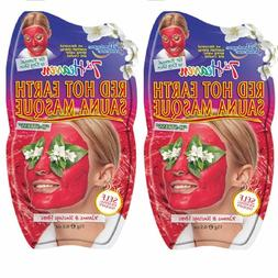 7th Heaven Montagne Jeunesse Red Hot Sauna Pack of 2