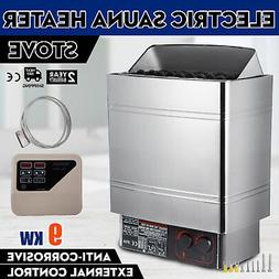 9KW Stainless Steel Wet&dry Sauna Heater Stove Digital Contr