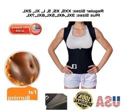 EXTREME PLUS SIZES sauna thermo Vest hot 100% Neoprene 2.5mm