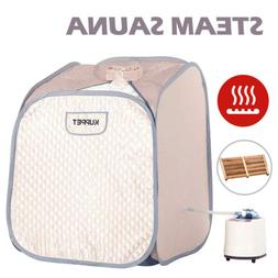 2L Portable Steam Sauna Spa Full Body Detox Therapy Slimming