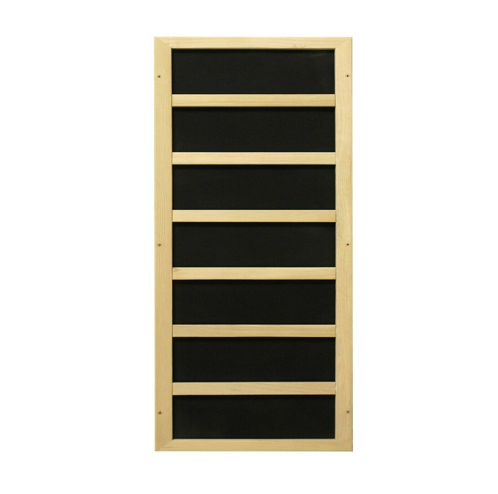 Dynamic Person Infrared Sauna Versailles Carbon Panels Low