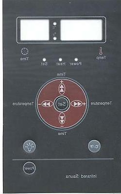"""Control Panel """"Skin"""" cover for sauna control panel"""