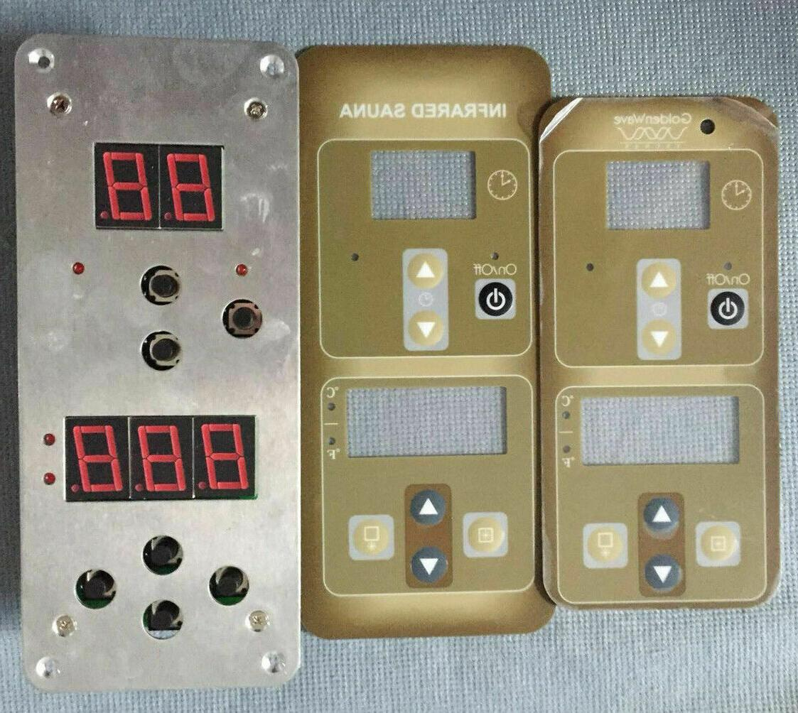infrared sauna control panel compatible with sunlight