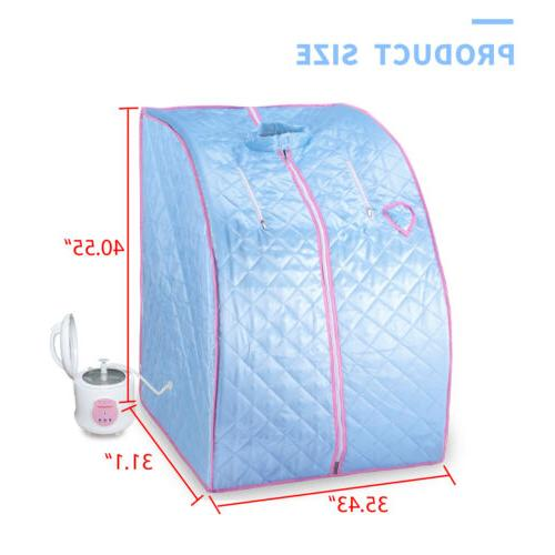 Portable Home Sauna 2L Spa Slimming Weight Loss Therapy