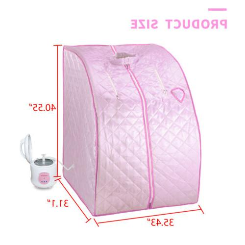Portable Sauna Steam 2L Spa Full Slimming Weight Therapy