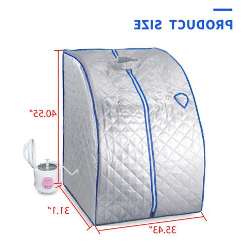 Portable Home Sauna Steam 2L Slimming Weight Therapy