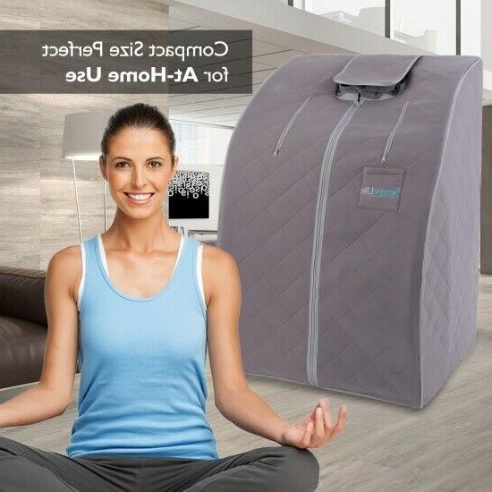 Portable Infrared Home | One Person Steam Sauna for Weight Loss