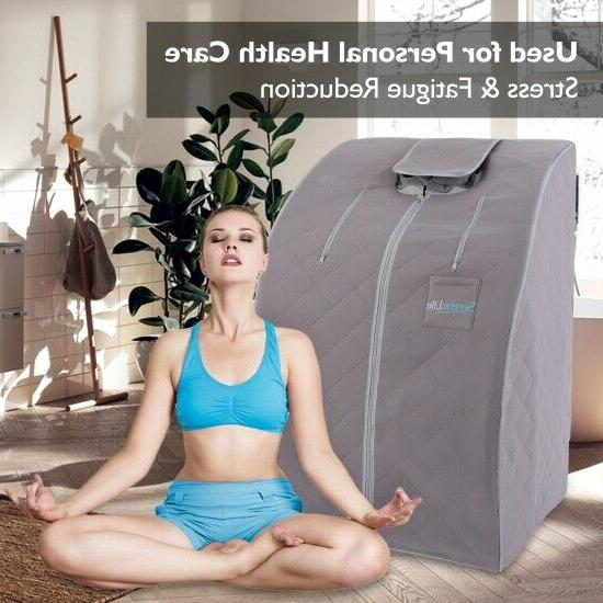 Portable Home Spa | One Person Sauna Weight Loss
