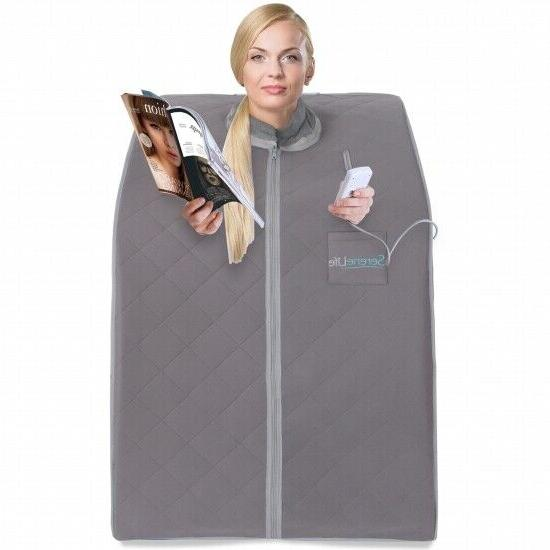 portable infrared home spa one person steam