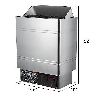 Sauna Heater 9KW Dry Sauna Stove With External Control Stainless