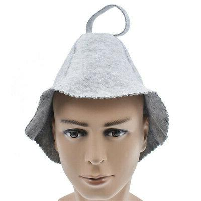 women felt sauna hat gift for bath