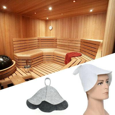 Women Felt Sauna Gift For Bath Water Absorption Cap