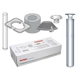 Harvia Modular Stainless Steel Chimney Set WHP 1500 For Wood