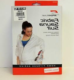 New, Sportline Fabric Sauna Suit With Soft Woven Lining, 2 P