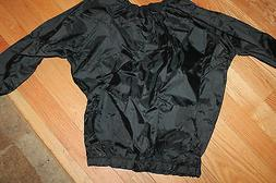 NYLON BLACK SAUNA long sleeve XL shirt Exercise Boxing Marti