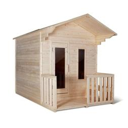 ALEKO Outdoor White Pine Steam 4 Person Sauna with Bitumen R