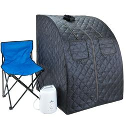 Durasage Oversized Portable Steam Sauna Spa for Weight Loss,