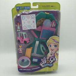 Polly Pocket Pamperin Perfume Spa Compact NEW  w/ Polly Stic