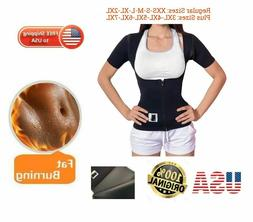PLUS SIZES BODY SPA sauna Vest with Sleeves Weight Loss  100