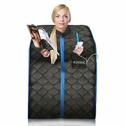 SereneLife Portable Infrared Home Spa | One Person Sauna | w