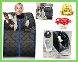 Portable Infrared Home Spa One Person Sauna With Heating Foo