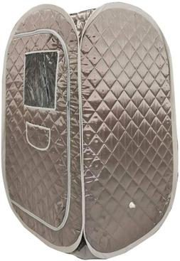 Portable Sauna Tent, Foldable One Person Full Body Spa for W