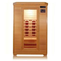 Sunray 2-Person Infrared Sauna Kensington Indoor HL200B Quic